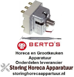 VE115375320 - Maximaalthermostaat uitschakeltemp. 230°C 3-polig 3NC 20A BERTOS
