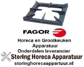 690109705 - Fornuis brander rooster B 310mm L 345mm H 50mm FAGOR