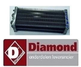 2526.029.0101.63 - VERDAMPER VOOR  DIAMOND MR-PIZZA/CP