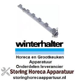 874502190 -Wasarm  6 sproeiers L 470mm voor vaatwasser Winterhalter