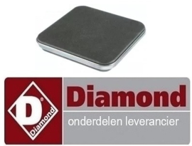VE066RTCU700248 - Kookplaat elektrische fornuis DIAMOND E7/2PQ4T