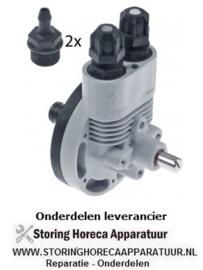 2323.618.83 - Doseerder naglans type 3237 met hulpdrukaansluiting glansspoelmiddel toevoercapaciteit 0-3cm³ per slag