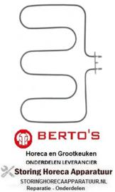 091416042 - Verwarmingselement 1500W 230V voor Bertos oven