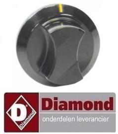 295RTFOC00055 - Knop schakelaar oven DIAMOND PFE 5D