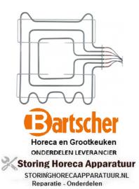 200416786 - Verwarmingselement 2750W 230/400V  VOOR BARTSCHER OVEN