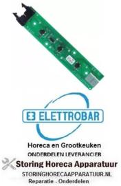 404403102 - Bedieningsprintplaat voor vaatwasser met beeldscherm knoppen 3 ELETTROBAR
