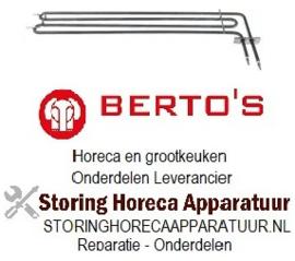506418139 - Verwarmingselement 3500W 240V voor Bertos oven