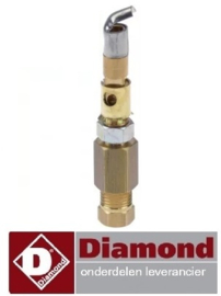 674R.TCU7.003.72 - Waakvlambrander gasfornuis DIAMOND C6GA11-SP
