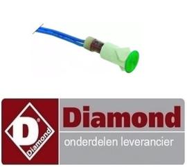 288A08011 - GROEN LAMPJE VOOR PIZZA OVEN DIAMOND FF133