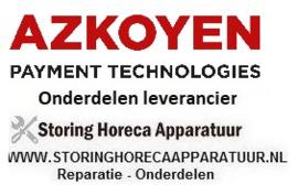 AZKOYEN - HORECA APPARATUUR REPARATUUR ONDERDELEN