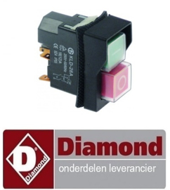 234A96ZN00083 - ON/OFF SCHAKELAAR DIAMOND PIZZA ROLLER