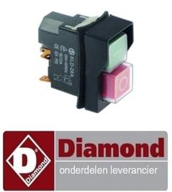 234A96ZN00083 - ON/OFF SCHAKELAAR DIAMOND PIZZA ROLLER P42/XV