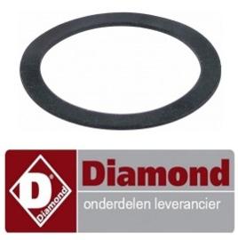 556437107 - Vlakpakking tussen basis en afvoer plug DIAMOND D281/EK-NP