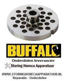 108AD416 - Gatenschijf 8 mm voor gehaktmolen BUFFALO CD400