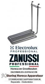 714420124 - Verwarmingselement 2900W - 230V - L 233mm B 77mm H 245mm rechthoekige flens Electrolux, Zanussi