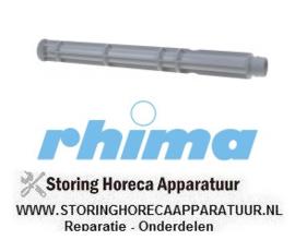 265 517357 - Overlooppijp L 420mm ø 44mm voor vaatwasser RHIMA