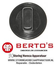 3841.100.81 - Knop gasfornuis BERTOS G7F4B