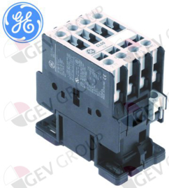 380262- Relais AC1 32A 230VAC (AC3/400V) 17A/7,5kW hoofdcontact 3NO hulpcontact 1NC