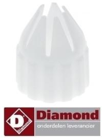452P04116 - Garneernippel voor slagroommachine DIAMOND MCV/2