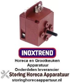 393350197 - Tijdschakelaar MI1 zonder bel looptijd 120min 1CO/1NO bij 250V 16A vaste positie ja INOXTREND