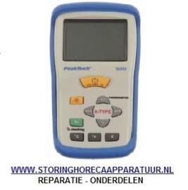 ST1800025 - Temperatuurmeter PEAK TECH 5110 incl. draadvoeler meeteenheid °C/°F -50 tot +1300°C voeler K