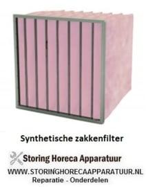 SYNTHETISCH ZAKKENFILTER KLASSE F7 - IFS85