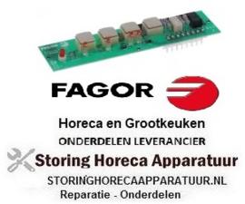 914401720 - Bedieningsprint combi-steamer HEI 1021/HGV 1021 knoppen 4 FAGOR