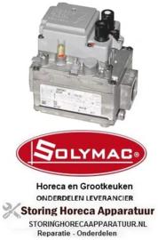 "223101123 - Gasventiel 230V gasingang 3/4"" gasuitgang 3/4"" thermoelementaansluiting M9x1 SOLYMAC"