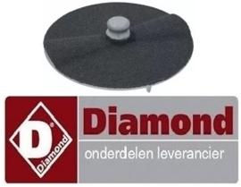 212F2750 - Raspschijf voor aardappelschilmachine DIAMOND PPF-18