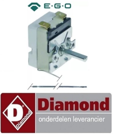505A.060.42 - Thermostaat t.max. 320°C instelbereik 50-320°C DIAMOND GL-4x6,
