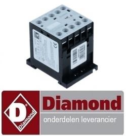 566164608 - RELAIS 20A 230VAC (AC3/400V) 12A/5,7kW voor friteuse DIAMOND F14+14E/M