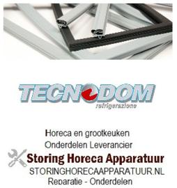 978900945 - Koeldeurrubber  B 387mm - L 292mm steekmaat TECNODOM