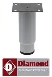 71242101001 - Voet verstelbaar DIAMOND ID70/PM