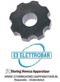 4404.290.08 - Schroefconnectie kunststof vaatwasser ELETTROBAR FAST 140