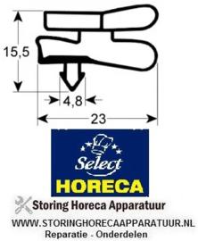 967901377 - Koeldeurrubber B 715mm L 1674mm steekmaat L1 1686mm B1 722mm buitenmaat HORECA SELECT