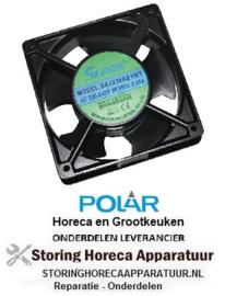 229AB339 - Polar ventilator : Past op G608, G609, G610, G611, CC663, CD080, CD081, CD082, CD083, CD084, CD086, CD087, CD088, CD089, CD610, CD612,CD614, CD616, CL108 en CL109