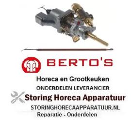 401106742- Gasthermostaat t.max. 300°C BERTOS