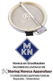 384490093 - Stralingselement ø 230mm 2100W 230V MKN