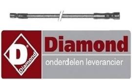 213100018 - Ontstekingskabel voor bougie lavasteengrill DIAMOND