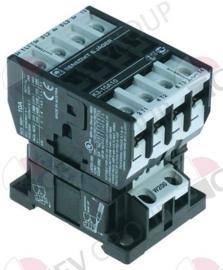088477 - Relais AC1 25A 230VAC (AC3/400V) 10A/4kW hoofdcontact 3NO hulpcontact 1NO