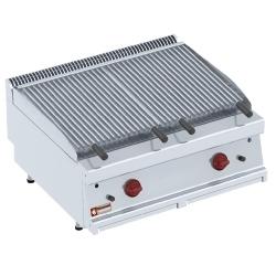 """PLX87-MF -  Lava-stone grill - 1/1 module, """"Z""""cooking grill"""
