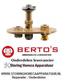 95627291100 - Waakvlambrander lavasteengrill BERTOS PLG80M