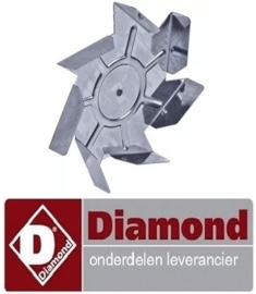 65654401700 - Ventilatorblad voor oven DIAMOND BRIO