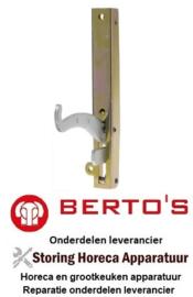 10631802100 - Ovenscharnier bevestigingsafstand 173mm BERTOS E7P4+FE1