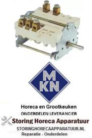 183300192 - Nokkenschakelaar 4-standen schakelvolgorde 0-3-2-1 32A MKN