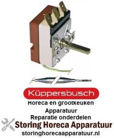 998375086 - Thermostaat t.max. 180°C instelbereik 60-180°C 1-polig 1CO 16A voeler ø 6mm voeler L 90mm KUPPERBUSCH