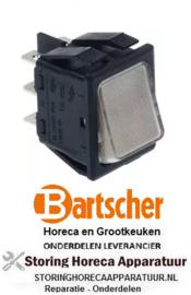 994301101 - Wipschakelaar inbouw wit 250V 16A BARTSCHER