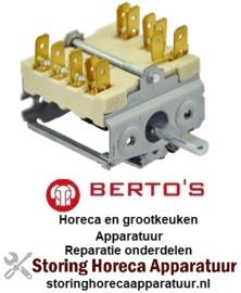 VE22422050100 - Nokkenschakelaar 4 schakelstanden voor BERTOS