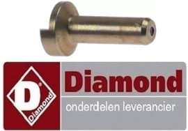 205RTCP800041 - Waakvlaminspuiter propaangas boring ø 0,23/0,26mm voor gasfornuis DIAMOND