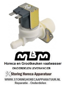 017DEV3S16 - Magneetventiel enkel recht kap vaatwasser  MBM L61